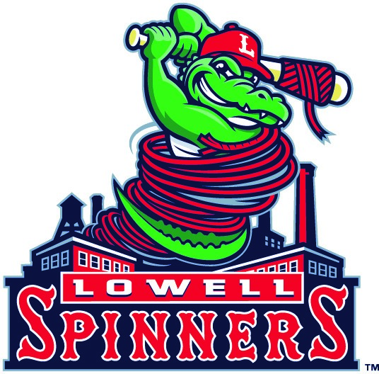 Lowell Spinners mascot logo