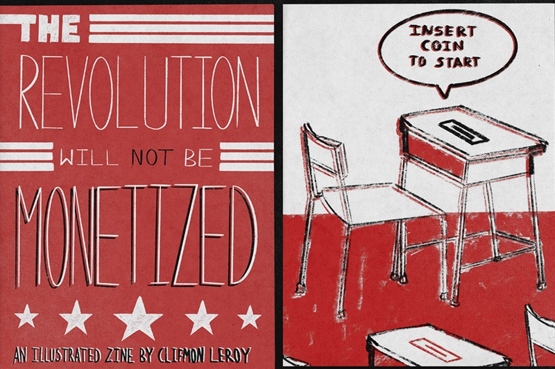 Clifmon Leroy The Revolution Will Not Be Monetized