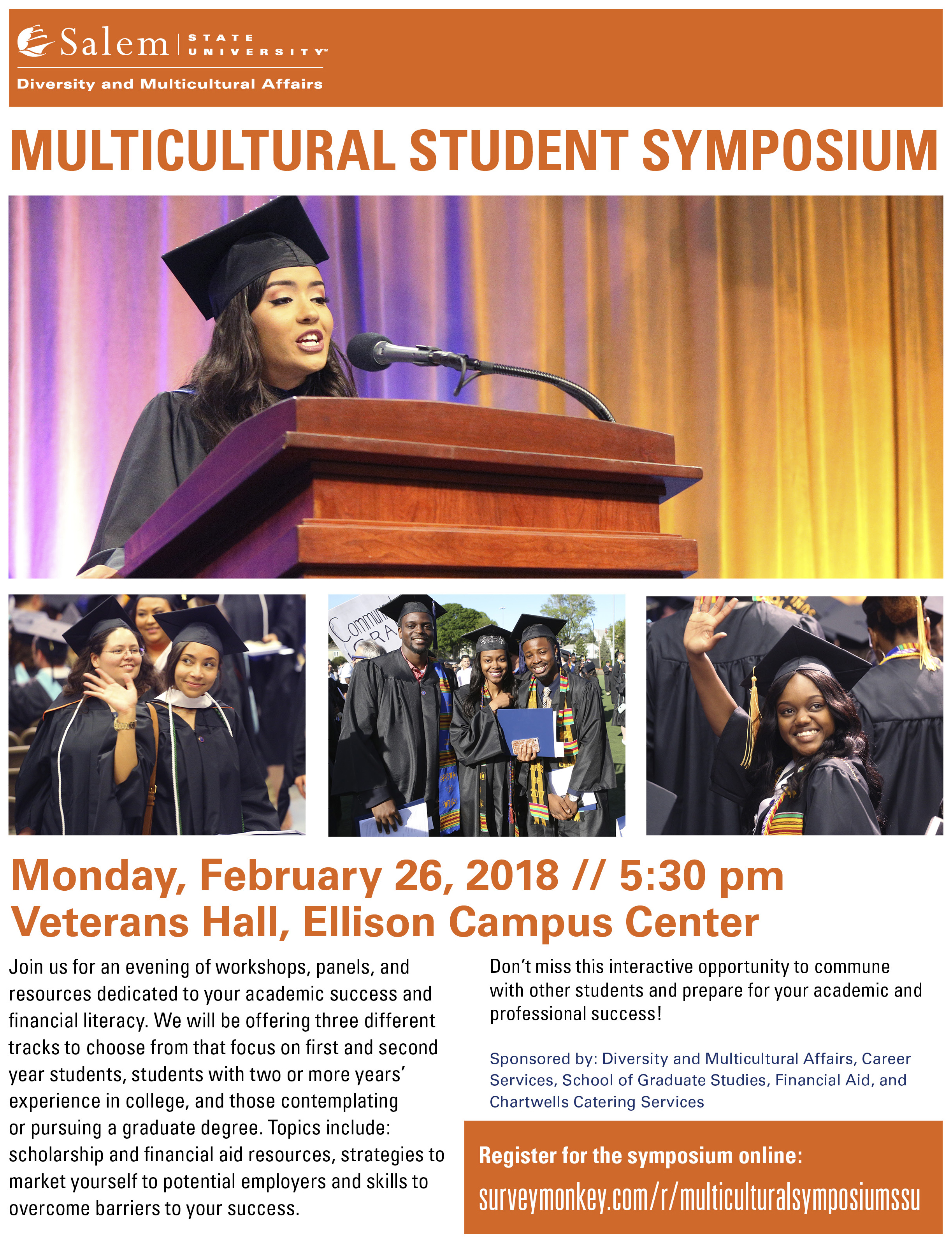 2018 Flyer for the Multicultural Student Symposium