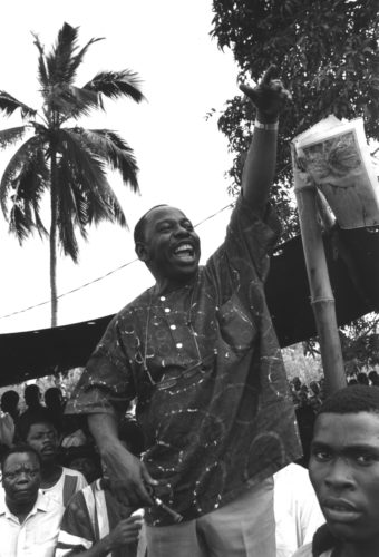 Ken Saro-Wiwa led a peaceful movement for the environmental and human rights of…
