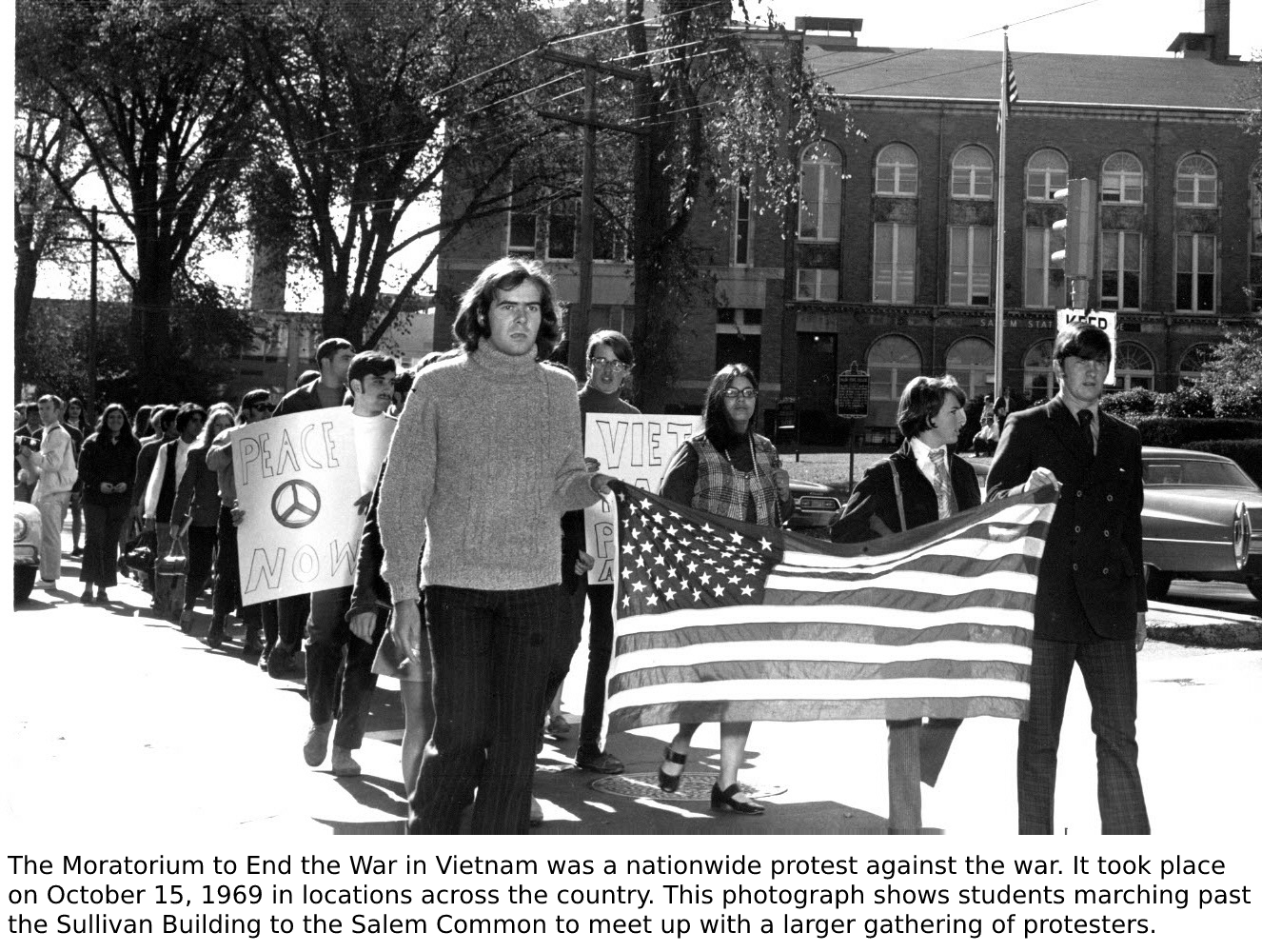 The Moratorium to End the War in Vietnam was a nationwide protest against the w…