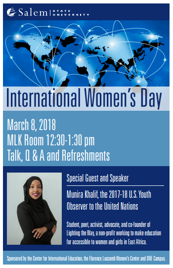 International Women' Day Flyer