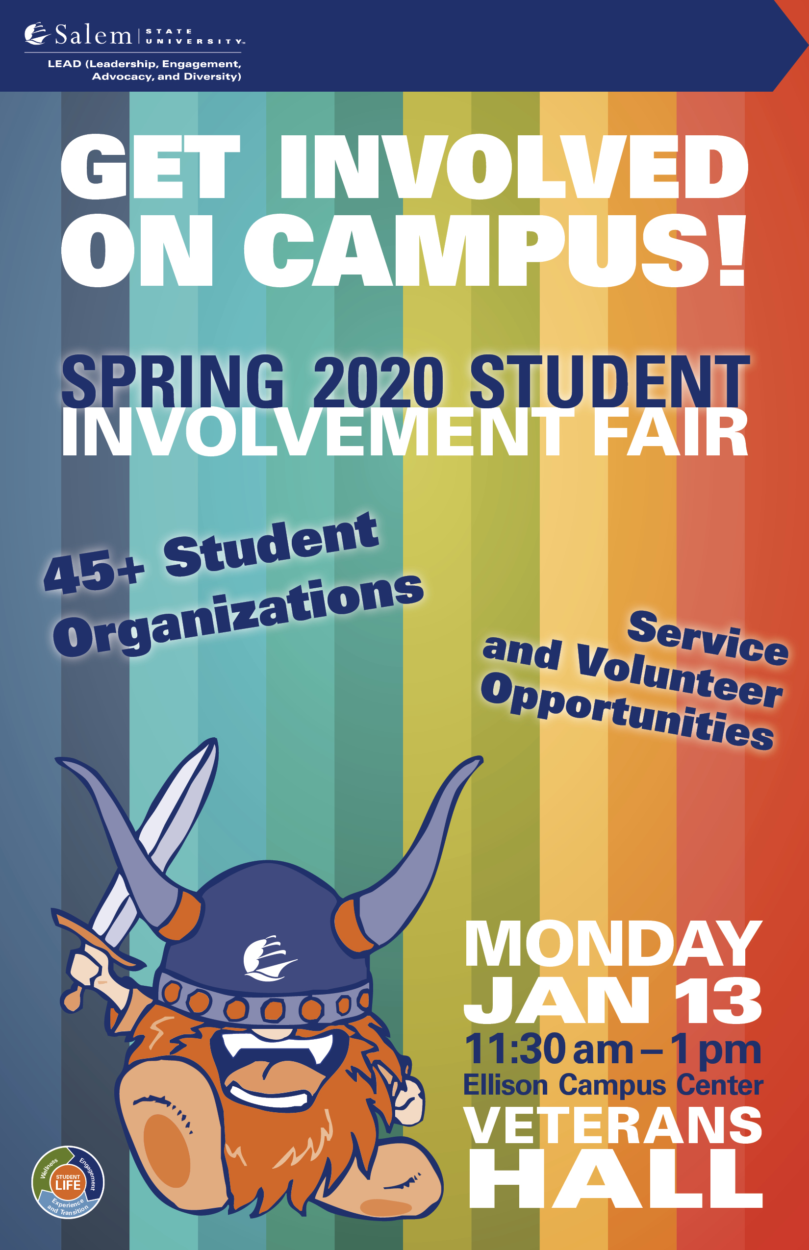 Student Involvement Event Poster
