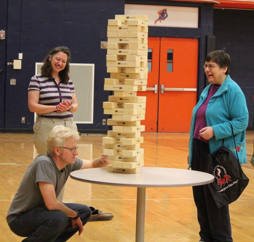 Playing Jenga at the Generation Games