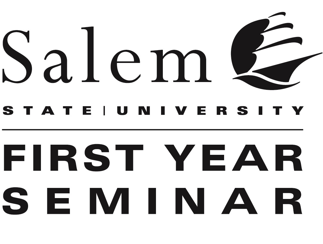 """Salem State University logo with the words """"First Year Seminar"""""""
