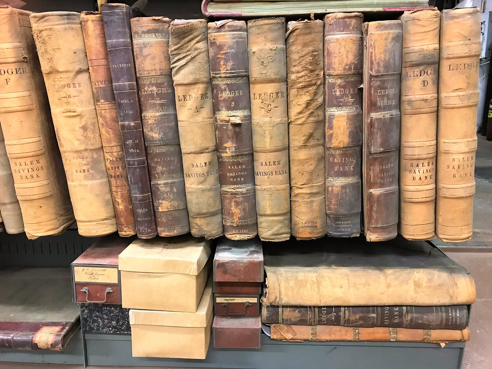 Salem Savings Bank Ledgers