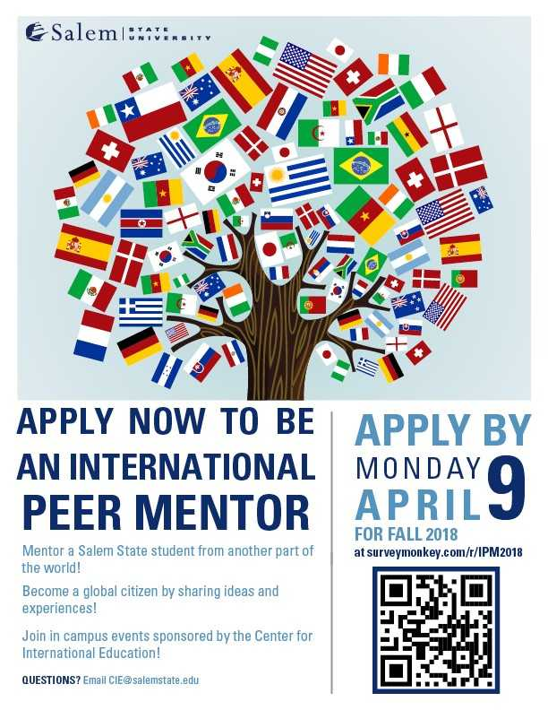 International Peer Mentor Flyer