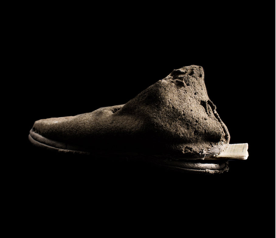 """Shoe with a Secret Compartment"" Richard Wiesel, Berlin Holocaust Memorial Proj…"