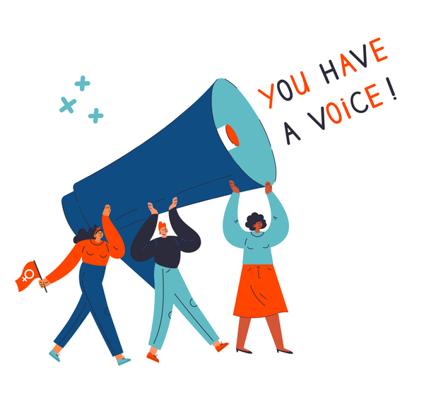 You Have a Voice!
