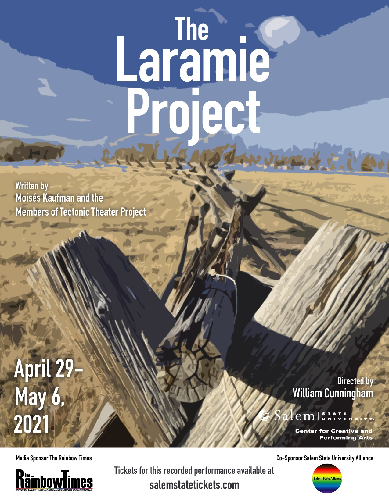 The Laramie Proejct live stream April 29 - May 6